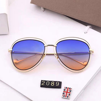 Mirror Couple Strong Character Hollow Out Vintage Uv Proof Sunglasses [11405212111]
