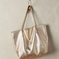 Gold Dust Tote by Campos Gold One Size Bags