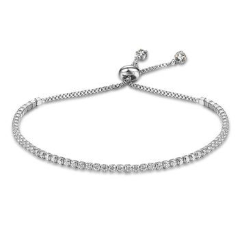 Womens Silver Fashion Bracelet - Jewelry to play in
