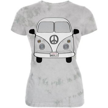 PEAPGQ9 Halloween Travel Bus Costume Camper Wanderlust Juniors Premium Soft T Shirt