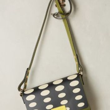 Orla Kiely Oval Print Shoulder Bag in Black Motif Size: One Size Bags
