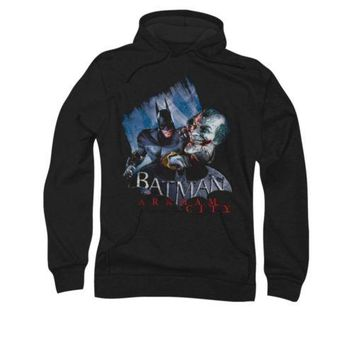 Batman Arkham City Jokes On You! DC Comics Adult Pullover Hoodie