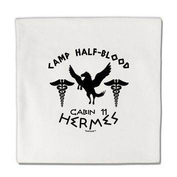 "Camp Half Blood Cabin 11 Hermes Micro Fleece 14""x14"" Pillow Sham by TooLoud"