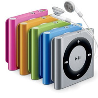 Apple iPod Shuffle 2GB Latest (4th) Generation MP3 player - Assorted Colors