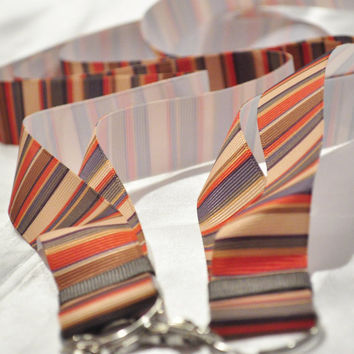 Doctor Who scarf lanyard READY TO SHIP