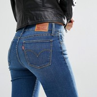 Levi's Innovation Mid Rise Super Skinny Jeans