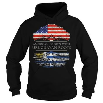 American Grown With Uruguayan Roots T-Shirt Hoodie