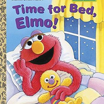 Time for Bed, Elmo! Little Golden Books
