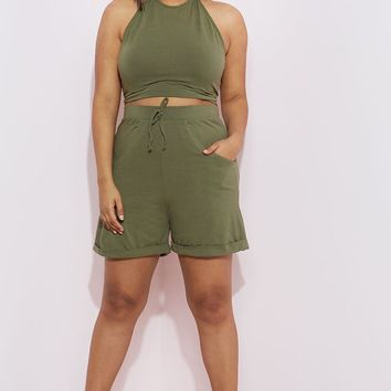 """Rebdolls """"The Vibes"""" Cargo Shorts With Pockets – REBDOLLS"""