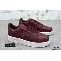 NIKE LAB AIR FORCE AF1 LOW Air Force F-XYXY-FTQ Dark red