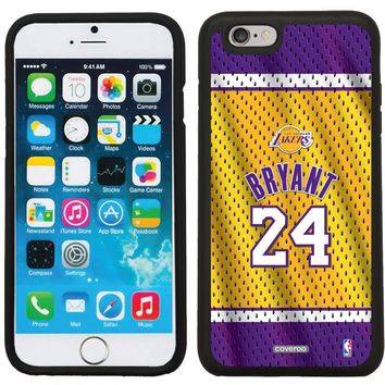 Kobe Bryant - Home Jersey Back Customizable Personalized Case