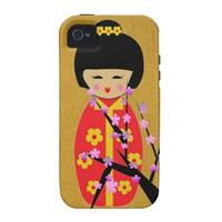 Asian Dolls Case-Mate iPhone 4 Cover