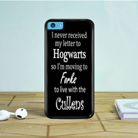 Harry Potter Twilight Quotes iPhone 5 5S 5C Case Dewantary
