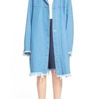Women's Marques'Almeida Oversize Hooded Denim Parka,
