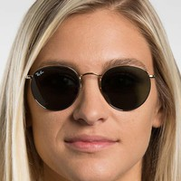 Ray-Ban RB3447 - Round Metal Sunglasses Gender: Unisex