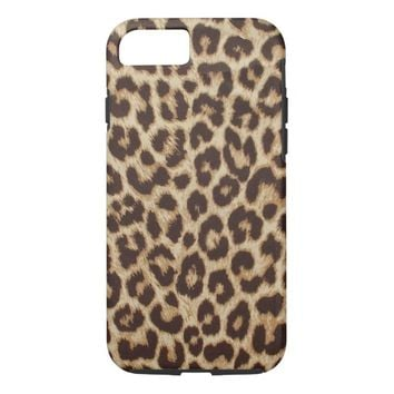 Leopard Print Case-Mate Tough iPhone 7 Case