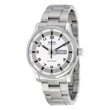 Mido Multifort Automatic Silver Dial Mens Watch M005.430.11.032.80
