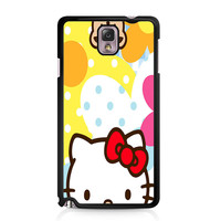 Hello Kity Patterns Samsung Galaxy Note 3 Case