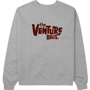 the venture bros sweater Gray Sweatshirt Crewneck Men or Women for Unisex Size with variant colour