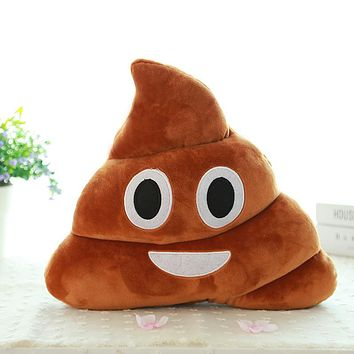 Poop Emoji Pillow (5 Types)