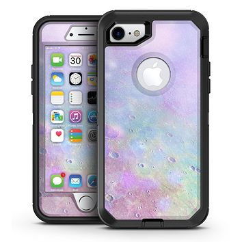 The Tie-Dye Cratered Moon Surface - iPhone 7 or 7 Plus OtterBox Defender Case Skin Decal Kit