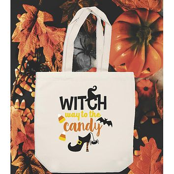 Trick or Treat Bag for Halloween Candy