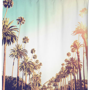 Shower Curtain Palm Tree