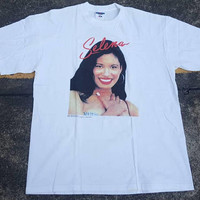 VTG Selena Quintanilla 1997 We will Miss You Deadstock Shirt Rare 90s Raptees Rnb Queen of Tejano