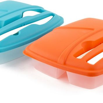 Lunch Box with Cutlery Sets - CASE OF 24