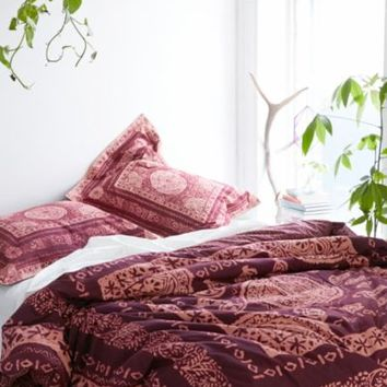 Magical Thinking Kami Woodblock Comforter