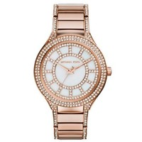 Kerry Pavé Rose Gold-Tone Watch | Michael Kors