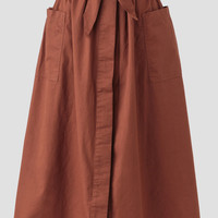 Old World Midi Skirt
