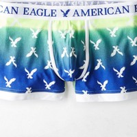 AEO Men's Ombre Eagle Low Rise Trunk