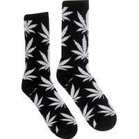 HUF Plant Life Crew Socks (black) - Accessories - HUFSOC13PLTBLK   PickYourShoes.com