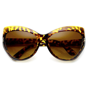 LE FLAIR CAT EYE SUNGLASSES