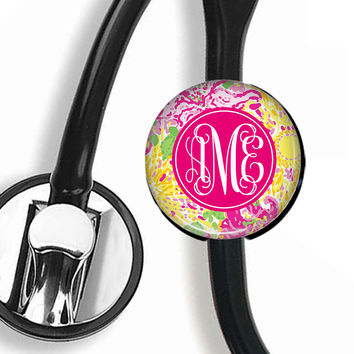 Stethoscope ID Tag - Monogram or Personalize