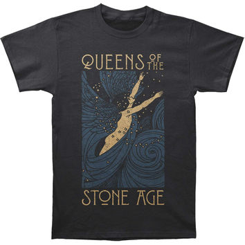 Queens Of The Stone Age Men's  Lost Art Slim Fit T-shirt Coal