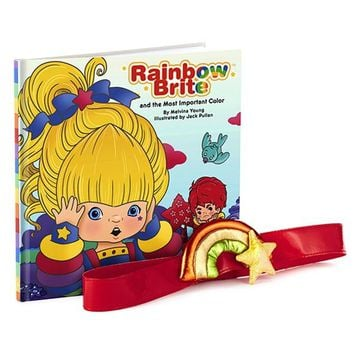 Rainbow Brite™ and the Most Important Color Book With Belt