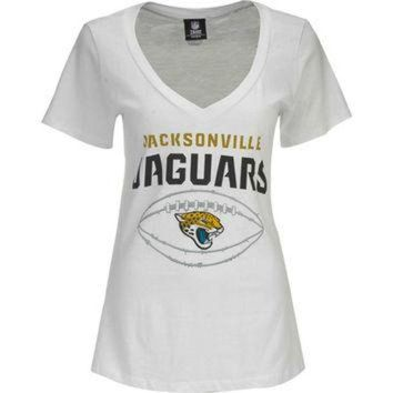 PEAPYD9 Jacksonville Jaguars NFL Womens Baby Jersey Football T-Shirt
