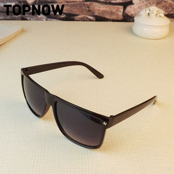 New Retro Rivet fashion sunglasses women men designer Square UV Glasses Unisex Sun Glasses
