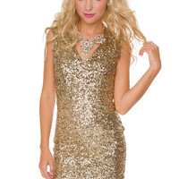 Glam Diva Mini Dress