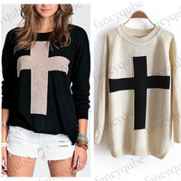 Cross Sweater (More Colors)