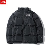 The North Face 2018 winter new tide brand men and women wear thick down cotton jacket Black