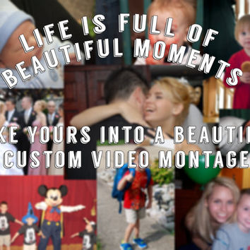 Personalized DVD Video/Photo Montage