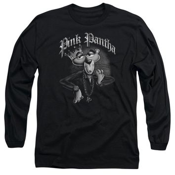 Pink Panther - Pink Pantha Long Sleeve Adult 18/1 Officially Licensed Shirt