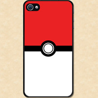 Iphone case Pokemon Pokeball Iphone 4 case cool awesome Iphone 4s case