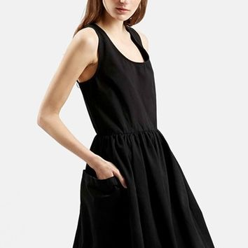 Women's Topshop Boutique Sleeveless Babydoll Dress,