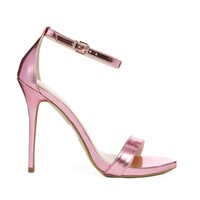Carvela Glacier Pink Heeled Sandals - Pale pink