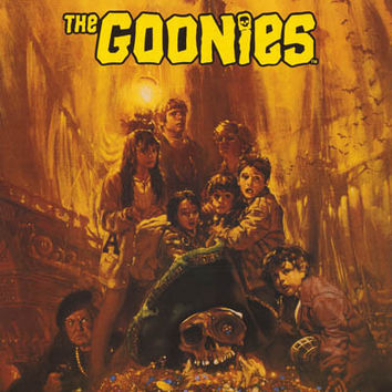 The Goonies Treasure Movie Poster 24x36