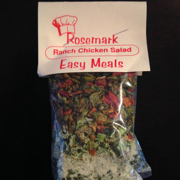 Rosemark Easy Meals Ranch Chicken Salad mix (Makes 2 Meals)